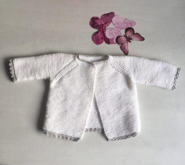 Jersey de ganchillo para bebe diy facil molan mis calcetas