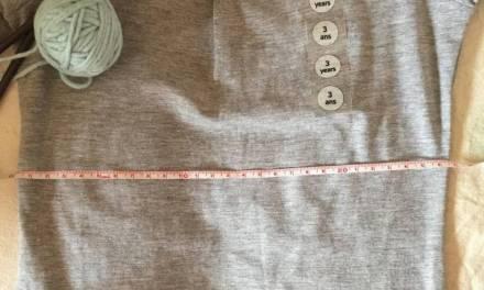 Adapta a la talla que necesitas cualquier patrón.