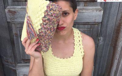 crochet top and bag Kempo.