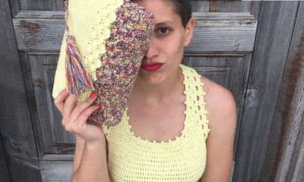 crochet top and bag Kempo.