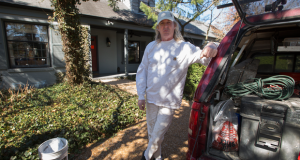 """""""He just flat-out ripped me off,"""" Eric Meng says of St. Peters attorney Jeffrey Witt, who represented Meng in a lawsuit over home refinancing fees. The self-employed subcontractor says at least $20,000 of a $106,000 award from the suit is missing. Photo by Karen Elshout"""