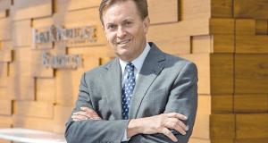 Thomas C. Erb, chairman of Lewis Rice & Fingersh. Photo by: KAREN ELSHOUT