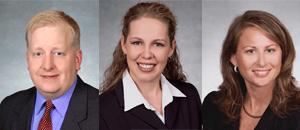 Barton E. Saettele, Patricia L. Bland and Lisa G. Moore.