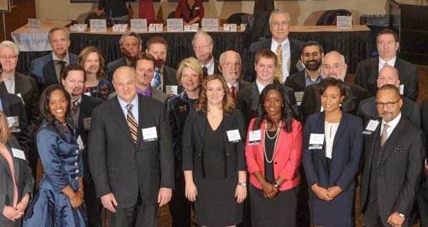 The 2017 Missouri Lawyers Award honorees.