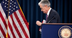 Federal Reserve Chairman Jerome Powell concludes a news conference following a two-day Federal Open Market Committee meeting in Washington. On Wednesday, the Federal Reserve releases minutes from its June meeting when it left rates unchanged. AP Photo by Manuel Balce Ceneta