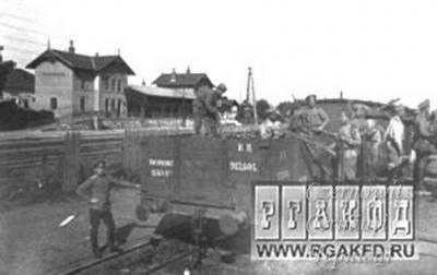 Про Чернівці в старих фото. Залізнична станція Volksgarten.