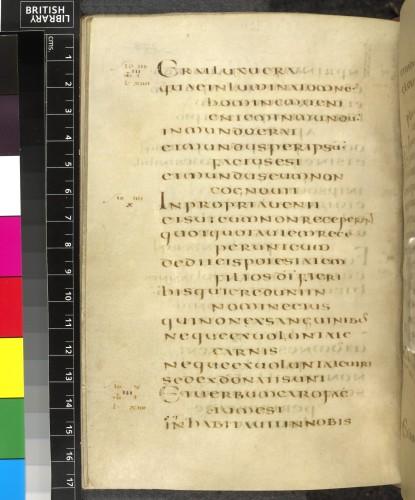 Psautier en écriture onciale