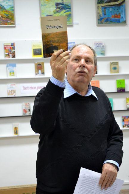 Lingvistul Vlad Pohilă. Sursa foto
