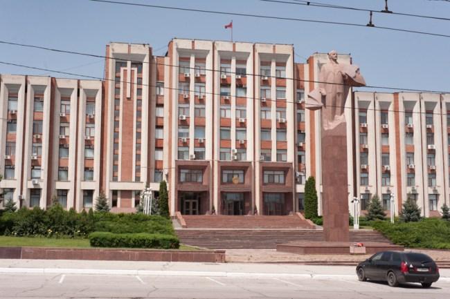 Sovietul suprem de la Tiraspol FOTO: Sandu Tarlev