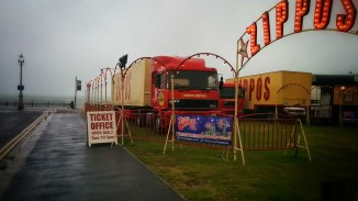 circus arrives in town