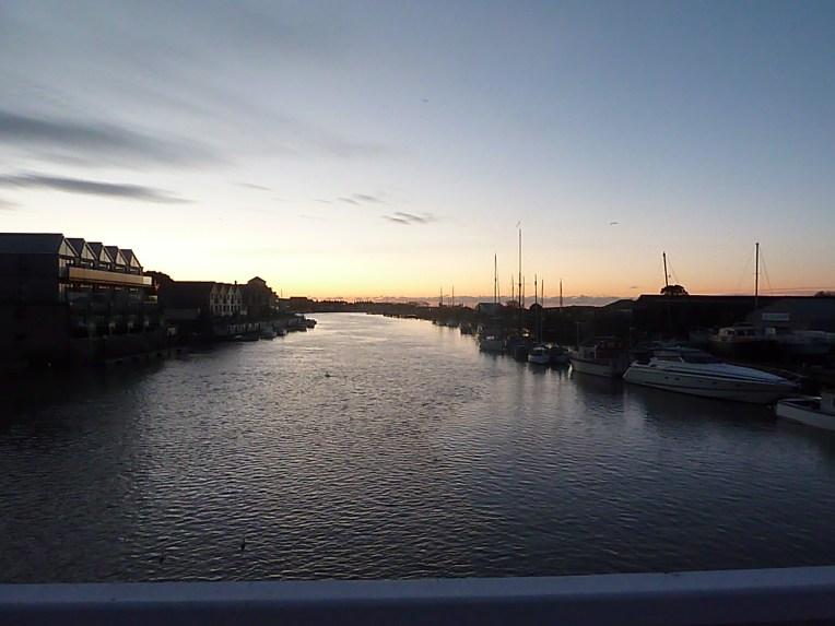 The Littlehampton bridge picture, morning has broken...