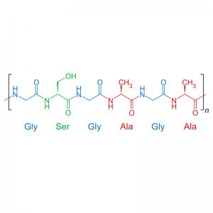 Silk Fibroin (Bombyx mori silkworm)