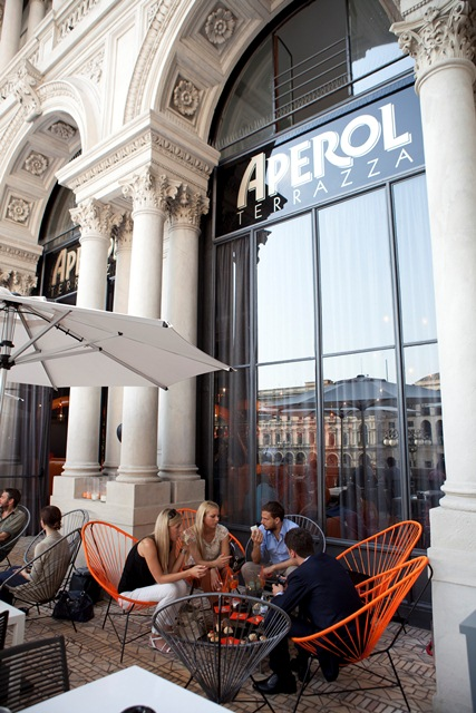 HotspotTerrazza Aperol in Milano  MoleculeF Blog