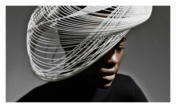 Gabriela Ligenza launches 3-D printed hats for Ascot