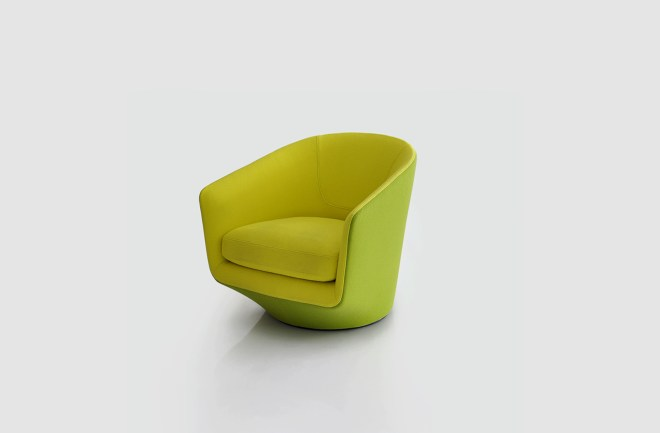 Bensen U-Turn Chair, available through Molecule