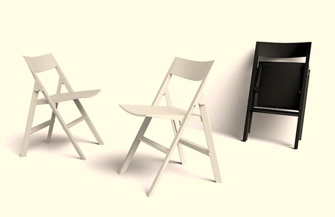 Quartz Folding Chair, by Vondom