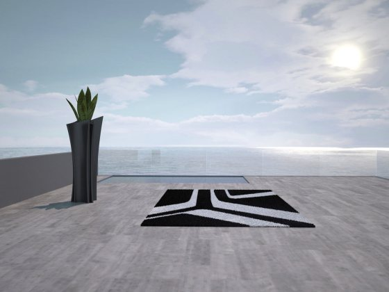 Moonbeam Rug, by Vondom-molecule design