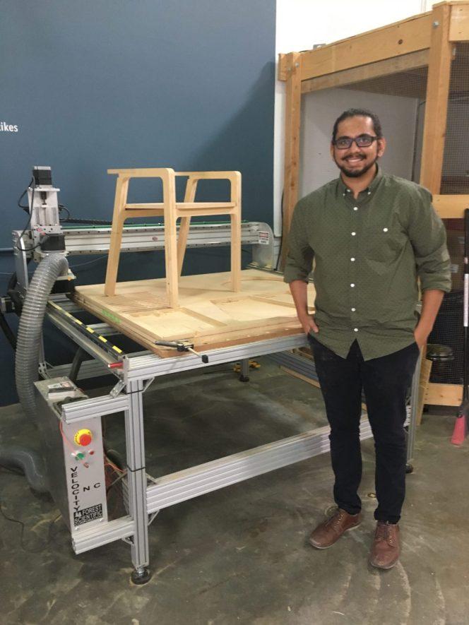 Arjun Bhakti's CNC Machining prototype