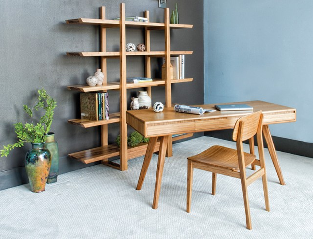Bamboo desk set.