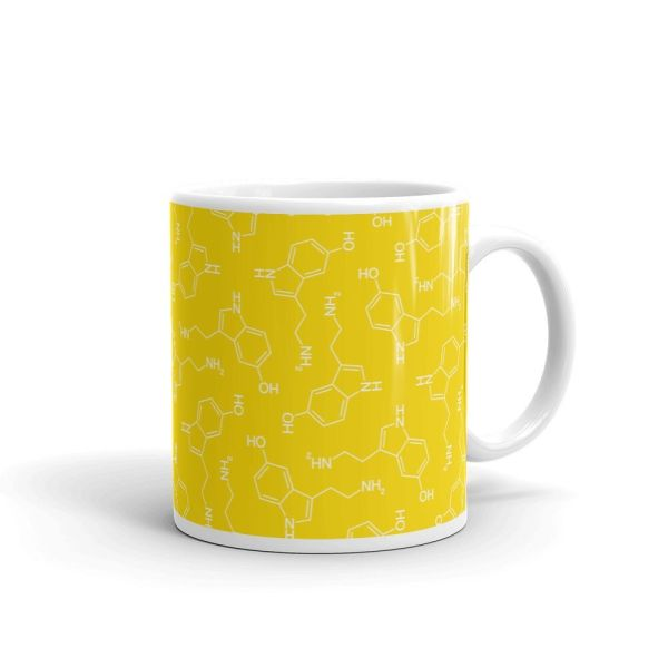 Lots of Serotonin Mug Yellow