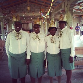 This is our Haitian Committee for the Dames Group!