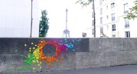 Interview: Mademoiselle Maurice Origami Street Art   Mole ...
