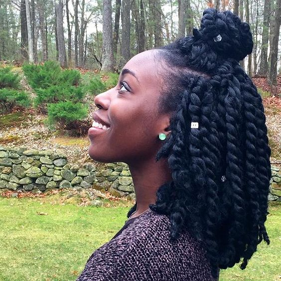Relax Five Hairstyles For A Natural Hair Transition Moler