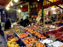 La Vucciria to-day - almost a memory of its former glory