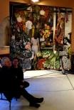 """Renato Guttuso's famous painting """"La Vucciria"""" at Palermo University"""