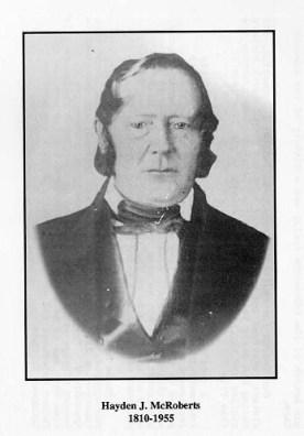 Hayden J. McRoberts 1810-1855