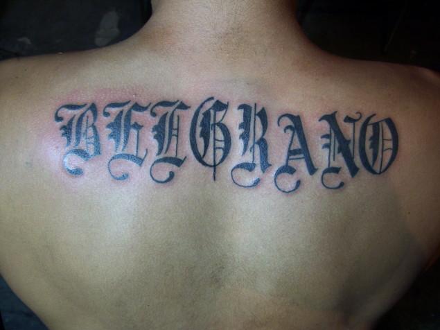 Letras Molina Tattoo