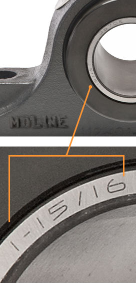 Moline Bearing Bearing Identification