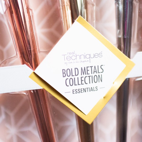 Real Techniques Bold Metals Collection Essentials Kit