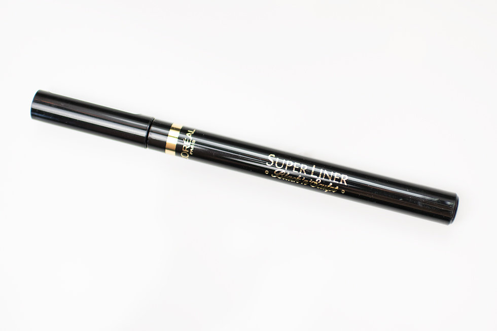 l'oréal paris super liner black'n'sculpt eyeliner