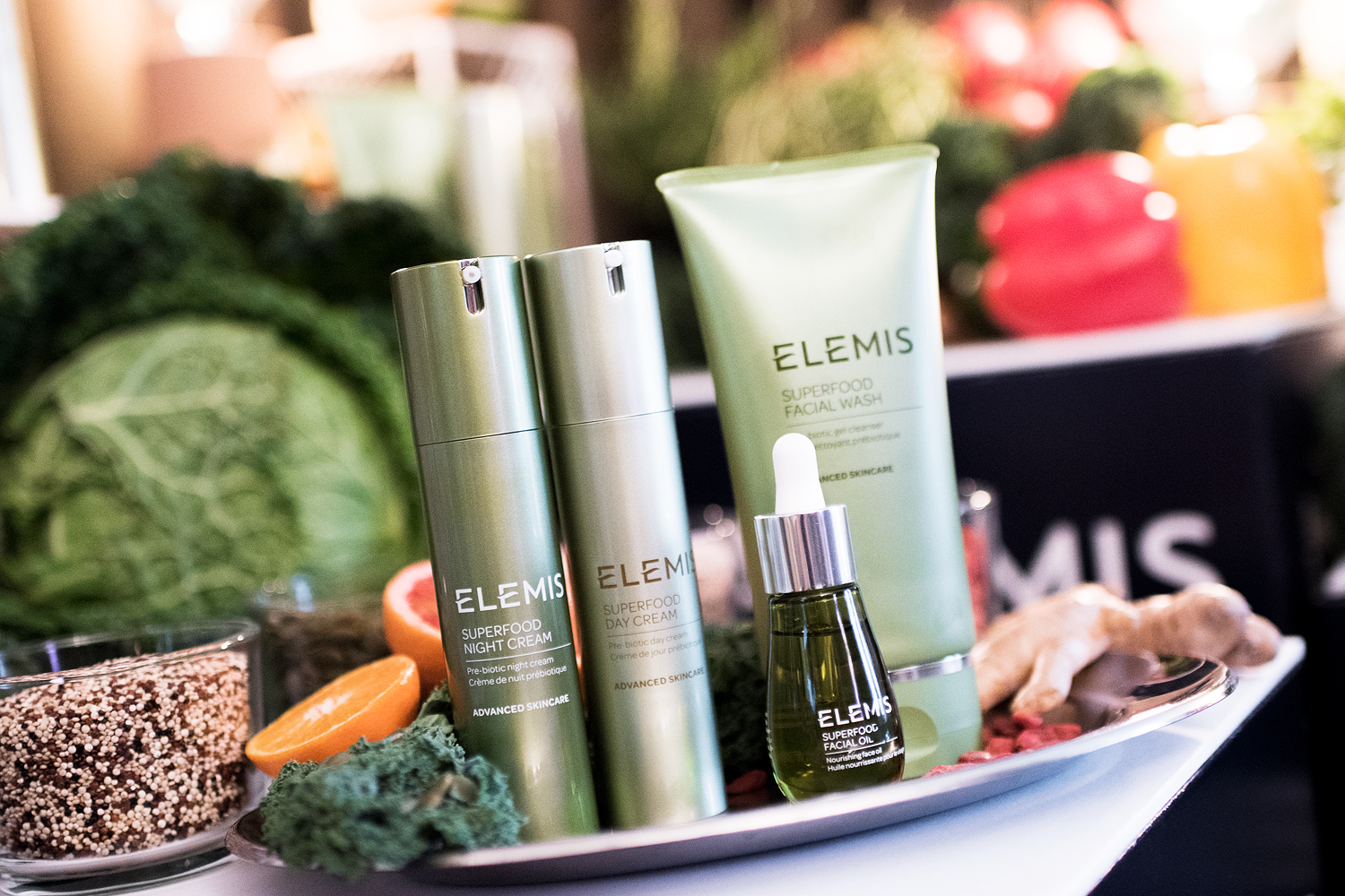 daisy beauty expo 2018 elemis superfood