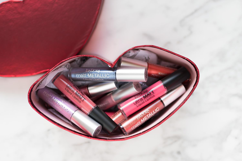 isadora ultra matt metallics liquid lipstick 2018