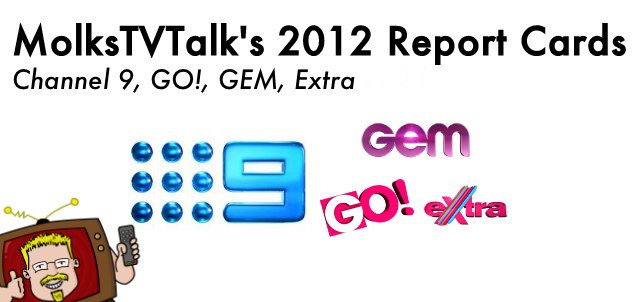 2012 Report Card – @Channel9, @GEMchannel, @GOchannel, Extra