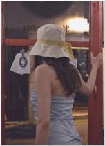 dress Jil Sander, hat Borsalino