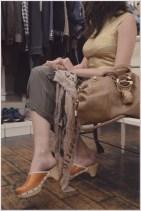 top Pinko, pants Manila Grace, shoes Miu MIu, fould Millelire, bag Gucci