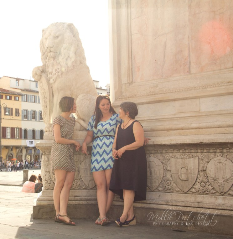 Family Photo Shoot in Florence Italy