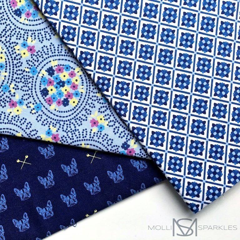 Have you seen the new fabric range Blue Carolina byhellip