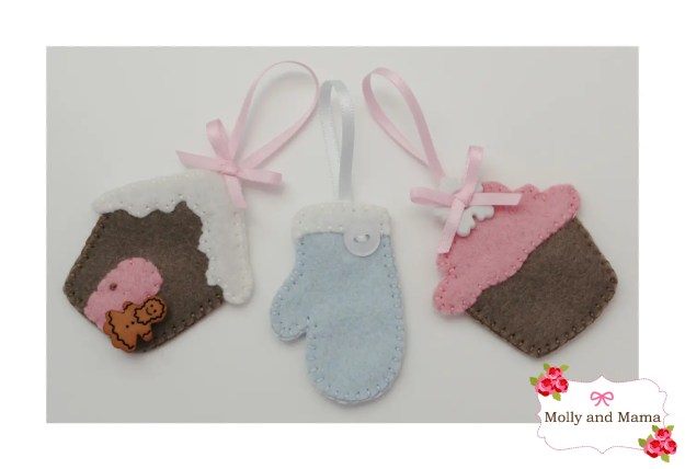 Mini Felt Ornaments