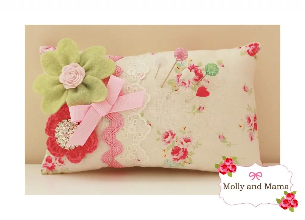 Lucky Pin Cushion Tutorial by Molly and Mama