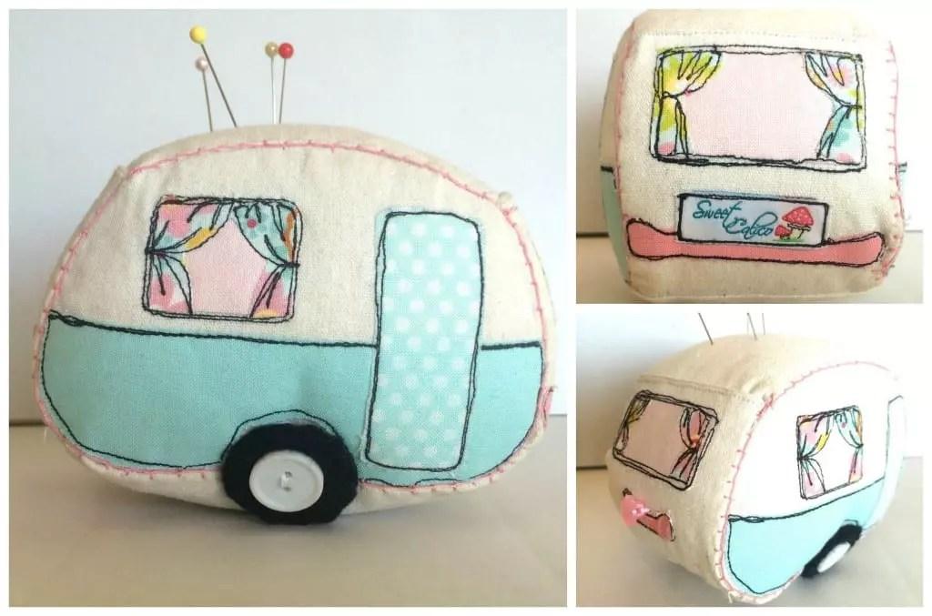 Caravan Pin Cushion by Sweet Calico