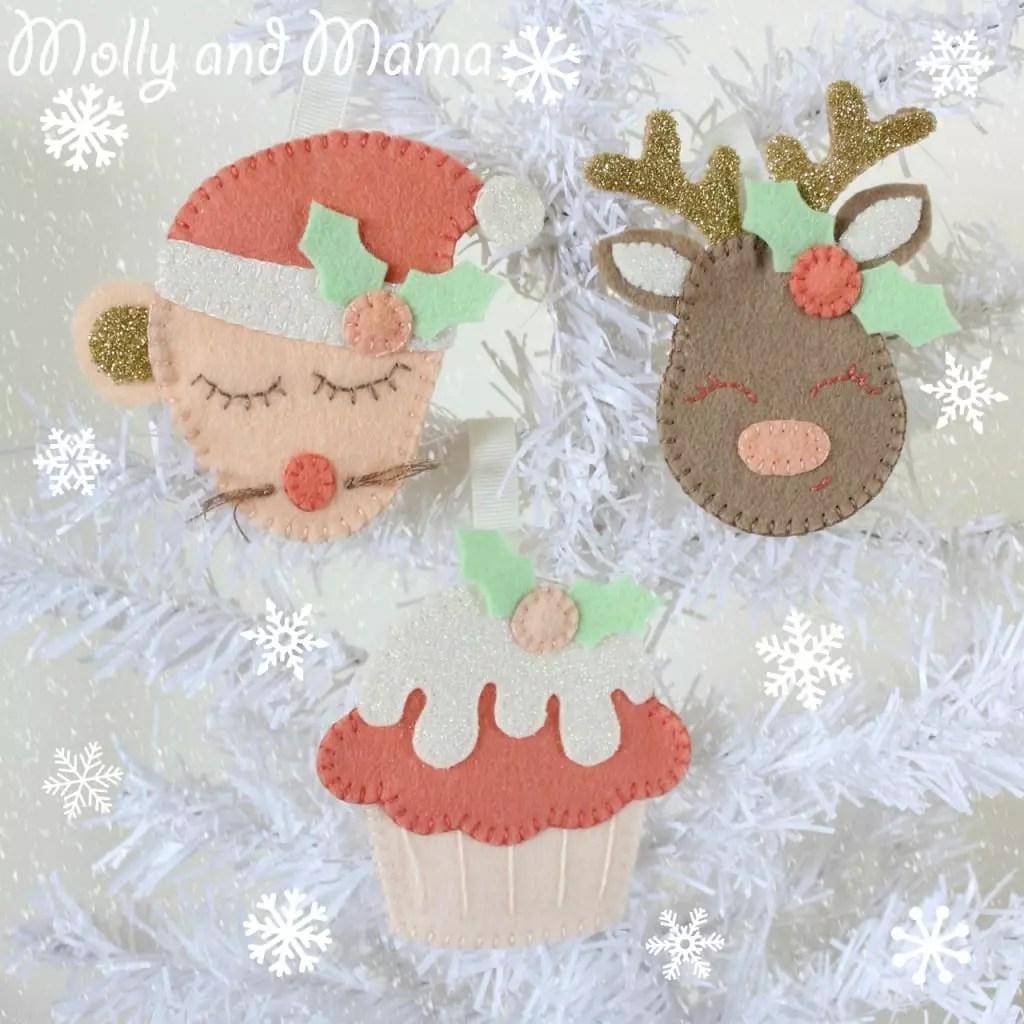 Festive Felties by Molly and Mama