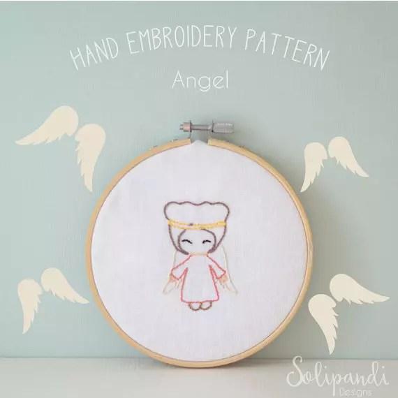 Solipandi Shop Singing Angel pattern