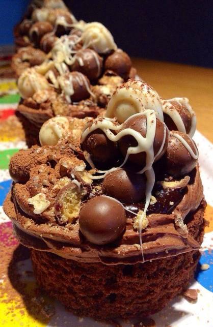 Mini Cake de Maltesers