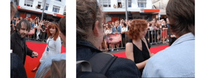 photos of Peter Jackson and Susan Sarandon
