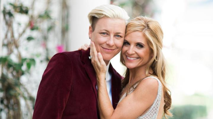 photo of Glennon Doyle and Abby Wambach