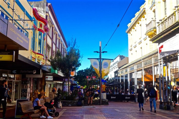 photo of cuba street
